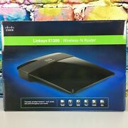 Cisco Linksys E1200 Wireless-n Router Wifi 4 Ethernet Ports Excellent Condition