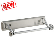 Stainless Steel Wall Mount Paper Towel Holder - Chrome.