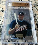 Andruw Jones 1995 Bowman's Best Blue Rookie Card Rc Bgs 9.5 Braves 434 Hrs