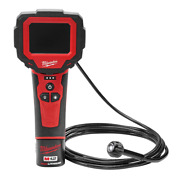 12v 360anddeg Inspection Camera 9 Ft Sensor Cable Lithiumion Cordless M Spector