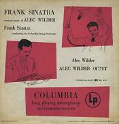 Frank Sinatra Conducts The Music Of Alec Wilder 1950 Columbia Vinyl Vg+/vg+