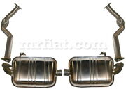 For Porsche Boxster Cayman Stainless Steel Sport Exhaust 2004-2009 New