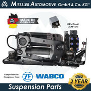 Rolls-royce Ghost Rr4 2010-2020 Air Suspension Compressor And Solenoid 37206886059