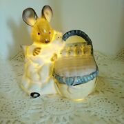 1989 Beatrix Potter Rabbit Collectibles Ceramic Night Light By Schmid Mom And...