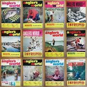 Magazine - Anglers World 1960s Fishing Full Contents Index Shown - Various
