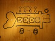 1914-15 Henderson Motorcycle Motor Gasket Set - Antique Reproduction