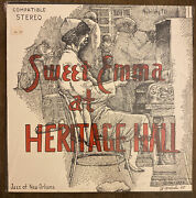 Sweet Emma The Bell Gal And Her New Orleans Jazz Band At Heritage Hall Vinyl Lp