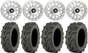 Sti Hd A1 Bdlk 14 Wheels Mh 27 Mud Lite Xtr Tires Honda Pioneer 1000 / Talon