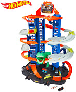 New Hot Wheels City Robo T-rex Ultimate Garage Multi-level Play Mode Stores Usa