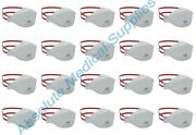 20-pack 3m Aura N95 Protective Disposable Respirator Face Mask White 1870+