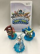 Skylanders Swap Force Game And Lot Of 3 Wham Shell, Riptide, Blizzard Chill
