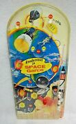 Rendezvous In Space Tabletop Pinball Game 1960and039s By Wolverine Toy Vintage S9468