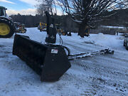 Erskine Front Snow Blower For Tractor - Mount From John Deere 6330 - In Vt
