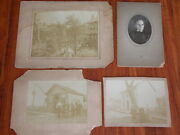 Orig. 1890s Knouff Family Victorian Shoemaker Photograph 5 Daguerreotypes Oh Pa