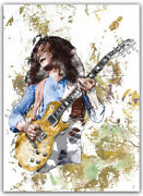 Paul Kossoff Poster / Canvas Free Paul Rodgers Simon Kirke Andy Fraser 3 Sizes