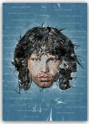 Jim Morrison Doors Ready To Hang Canvas Riders On The Storm Light My Fire