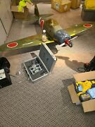 Very Large 89 Wide 66 Long Remote Control Airplane With Spectrum Dx7 Remote