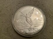 2008 Mexico Libertad Angel Solid .999 Silver Bullion 1 Kg Coin