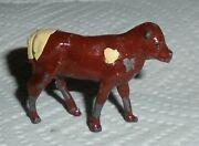 Vintage Lead Johillco John Hill And Co. Calf, Standing Ex Cond Free Ship Lot B