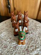 Fisher Price Little People Twas The Night Before Christmas Story Reindeer Lot