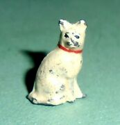 Vintage Lead Johillco John Hill And Co. Station Master's Cat Ex Cond Free Ship