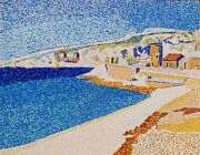 Jetty At Cassis 16 X 20 Acrylic On Board By Michael Byro