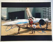 Oscar Isaac And Jj Abrams Signed Auto Star Wars Ep 7 11x14 W Sketch K9 Holo Proof