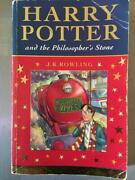 Harry Potter And The Philosopherand039s Stone 1st Print/edition J.k.rowling 1997 Rare