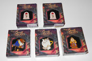 Disney Gallery 10th Anniversary Beauty And The Beast Boxed Pins Limited Edition