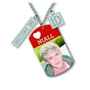 One Direction Niall Dogtag Necklace  New Official
