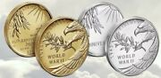 End Of World War Ii 75th Anniversary 24-karat Gold Coin And Silver Medal Pack