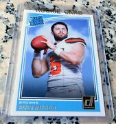 Baker Mayfield 2018 Donruss 1 Draft Pick Rated Rookie Card Rc Browns Hot