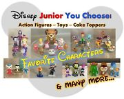 Disney Junior Jr Character Cake Toppers Toys And Pvc Action Figures You Choose