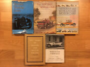 5 Collectible Vintage Car Books Charity Sale Many Bandw Photos Incl