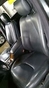 00-02 Mercedes Benz W220 S55 Amg Leather Seat Set Front/rear Charcoal 231a