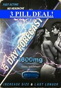5 Day Forecast 1600 Mg Male Sexual Enhancement Pills 3 Pk Free Shipping