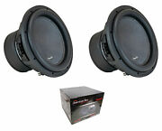 Pair Of American Bass Xr-12d4 12 Dual 4 Ohm Voice Coil 4800 Watts Subwoofer