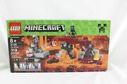 Lego Minecraft 21126 The Wither 318 Pieces Age 8+ Brand New A014