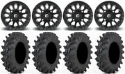 Fuel Vector Mb 14 Wheels 32 Outback Max Tires Polaris Rzr Turbo S / Rs1
