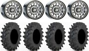 Sedona Sano Beadlock 14 Wheels Cast 32 Outback Max Tires Can-am Defender