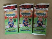 3 Pack Lot 2020 Garbage Pail Kids Chrome Series 3 Value Fat Pack 1 Refractor