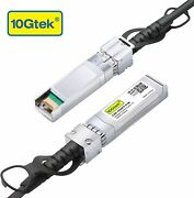 Sfp+ Dac Twinax Cable Passive 1meter Compatible With Cisco Pack Of 80