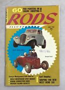 Rods Illustrated Magazine June 1960 Kart Race Cars Autos Hot Rod Soup Up Engines