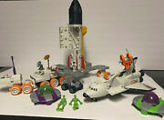 Mbx Huge Mega Rig Nasa Space X Shuttle Mission Discovery Playset Alien Ufo 2004