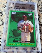 Andruw Jones 1995 Best Top 100 Green Sp Rookie Card Rc Bgs 9 9.5 Braves 434 Hrs