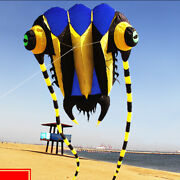 10㎡ Large Trilobite Kite Soft Kite For Adult Outdoor Flying Sports Kids Fun Toys
