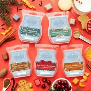 New Scentsy 2020 Scents Of The Season Wax Collection W/red Santa Bag Sold Out