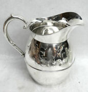 Classic American International Sterling Silver 3 Pint 7 1/2 Water Pitcher