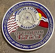 Us Marshal Service Operation Legend St. Louis 2020 Challenge Coin