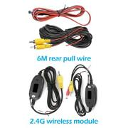 20ft Car Video Rca Extension Cable For Rear View Backup Camera And Detection Wire